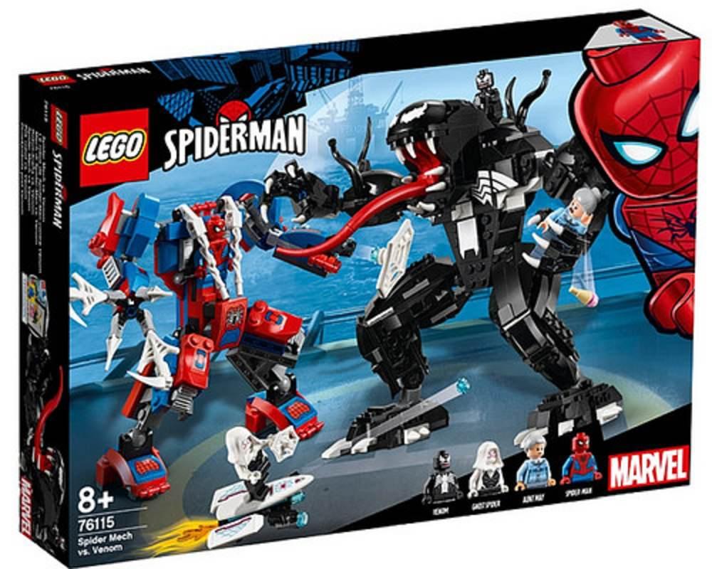 LEGO 76115 Spider-Mech vs. Venom Set Box Front Cover