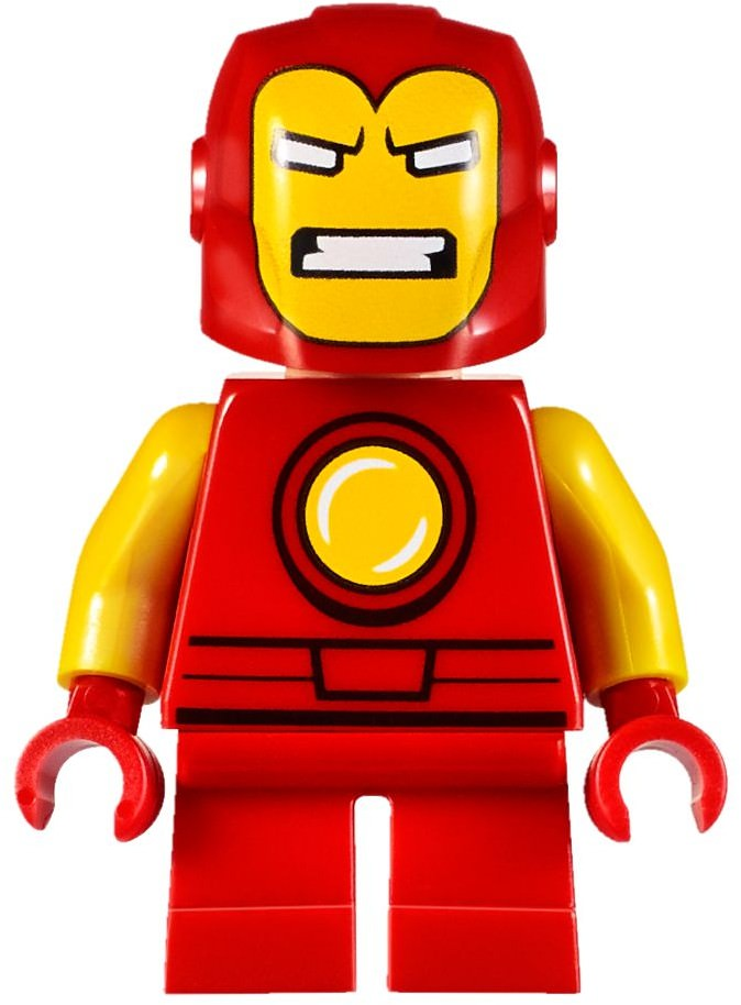 LEGO Classic Iron Man Suit — Mighty Micros Armor Minifigure
