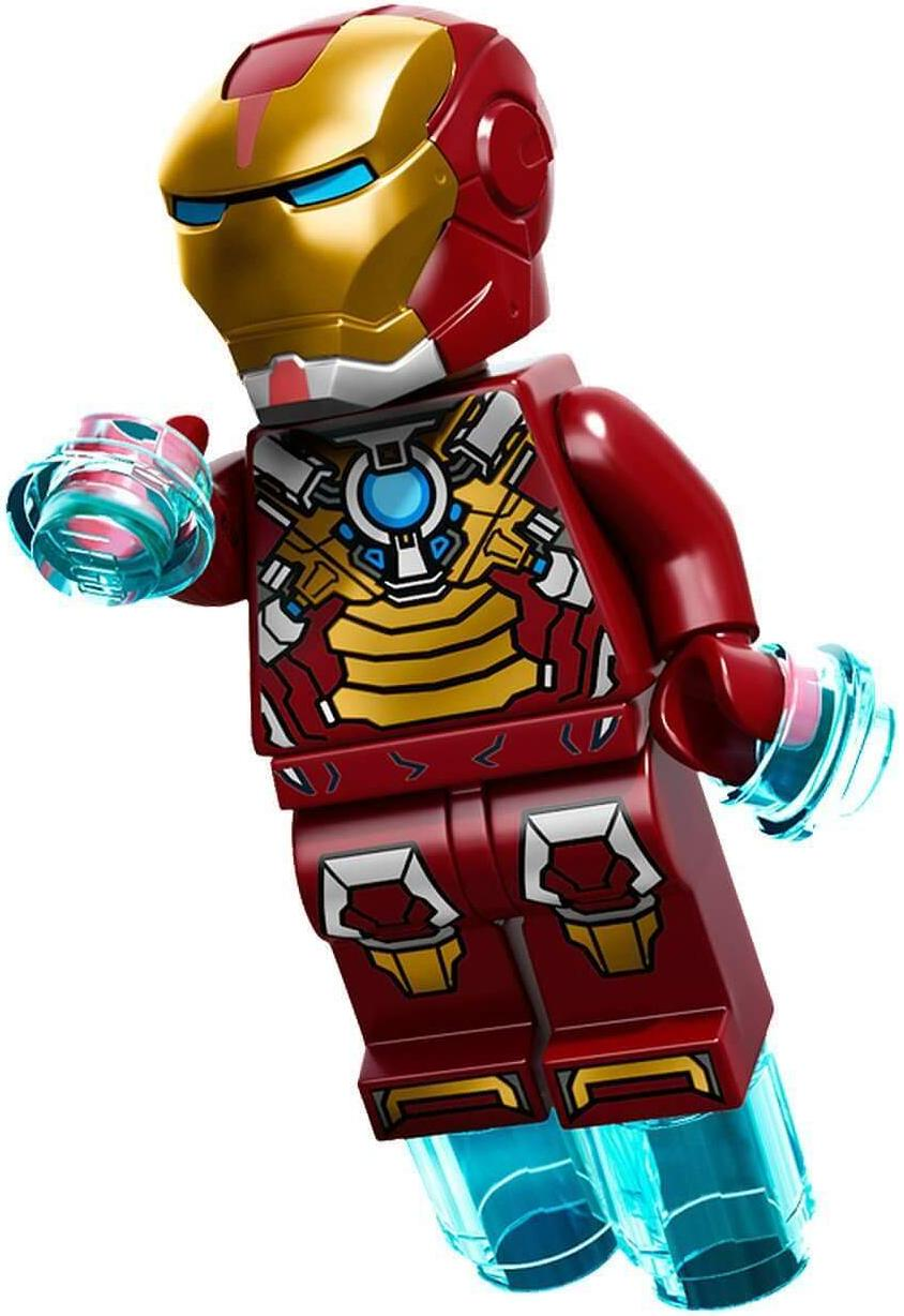 "LEGO Iron Man Mark 17 ""Heartbreaker"" Suit Armor Minifigure"