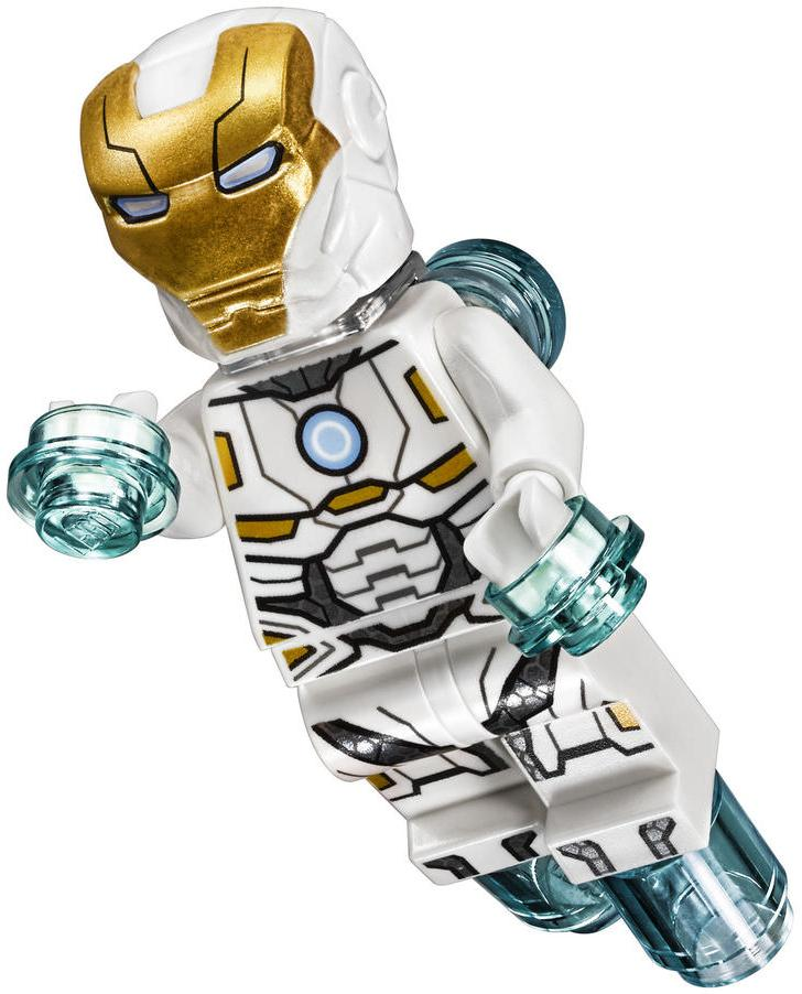"LEGO Iron Man Mark 39 ""Gemini"" Space Suit Armor Minifigure"