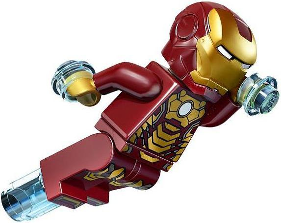 LEGO Iron Man Mark 42 Suit Armor Minifigure