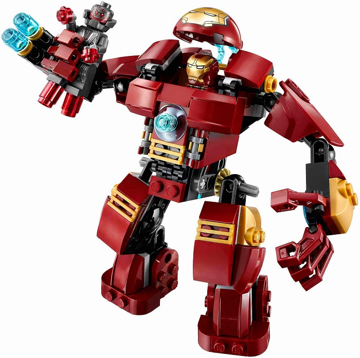 LEGO Iron Man Mark 44 Hulkbuster Suit Accessories Armor Figure
