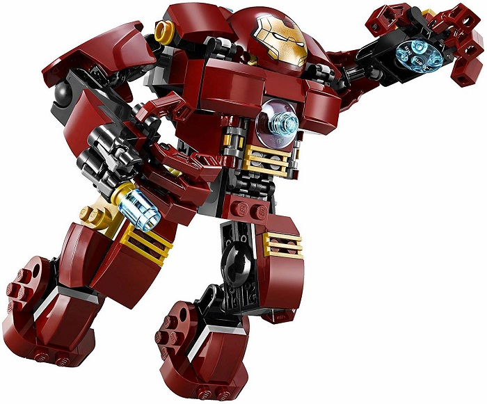 LEGO Iron Man Mark 44 Hulkbuster Suit Armor Figure