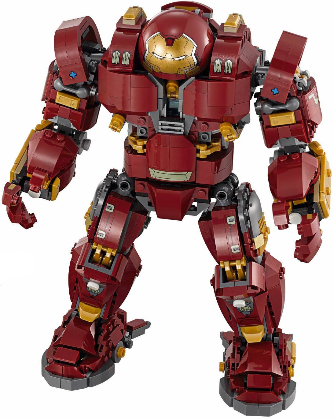 LEGO Iron Man Mark 44 Hulkbuster Suit with Head Armor Figure