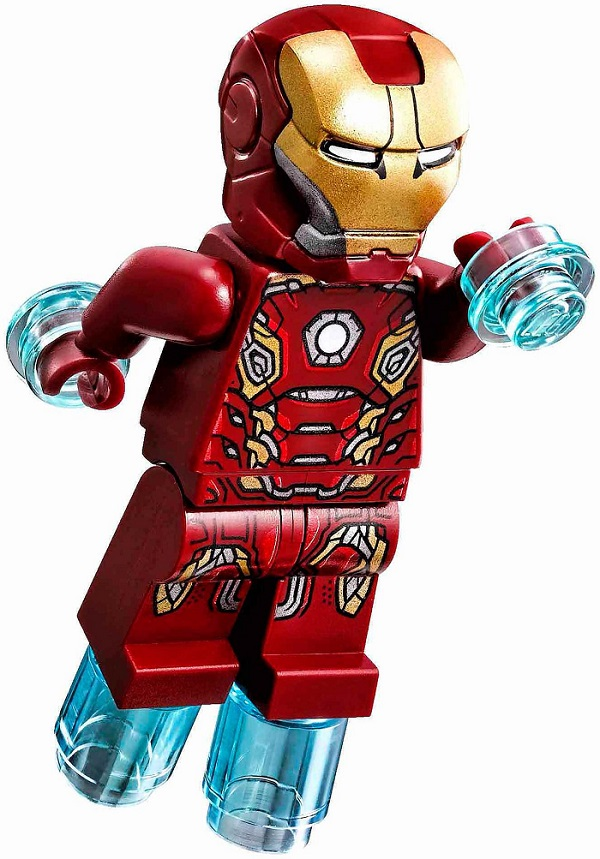 LEGO Iron Man Mark 45 Suit Armor Minifigure