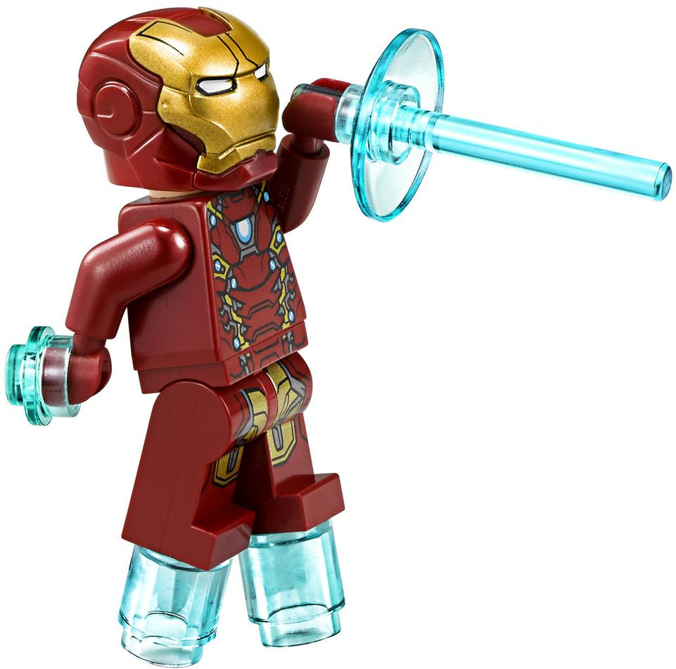 LEGO Iron Man Mark 46 Suit Armor Minifigure