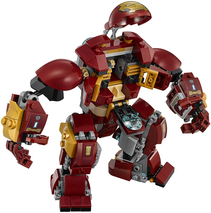 LEGO Iron Man Mark 49 Hulkbuster 2 Open Suit Armor Figure