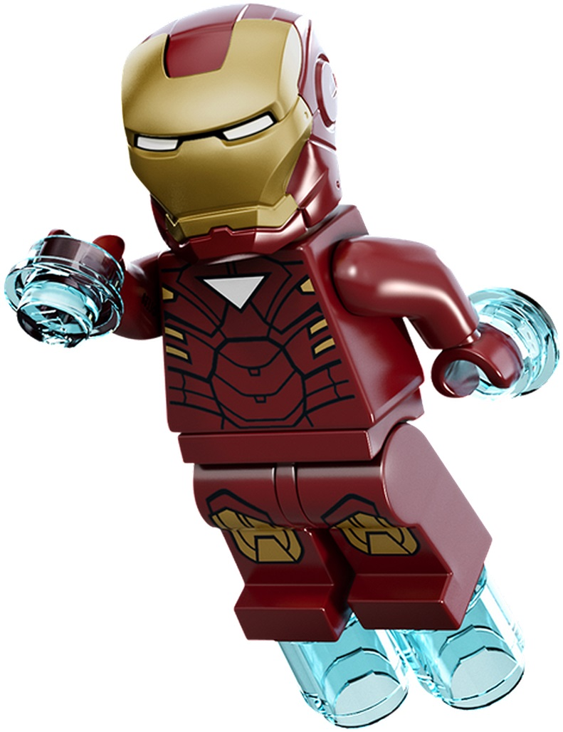 LEGO Iron Man Mark 6 Suit Armor Minifigure