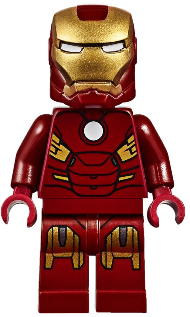 LEGO Iron Man Mark 7 Suit Armor Minifigure