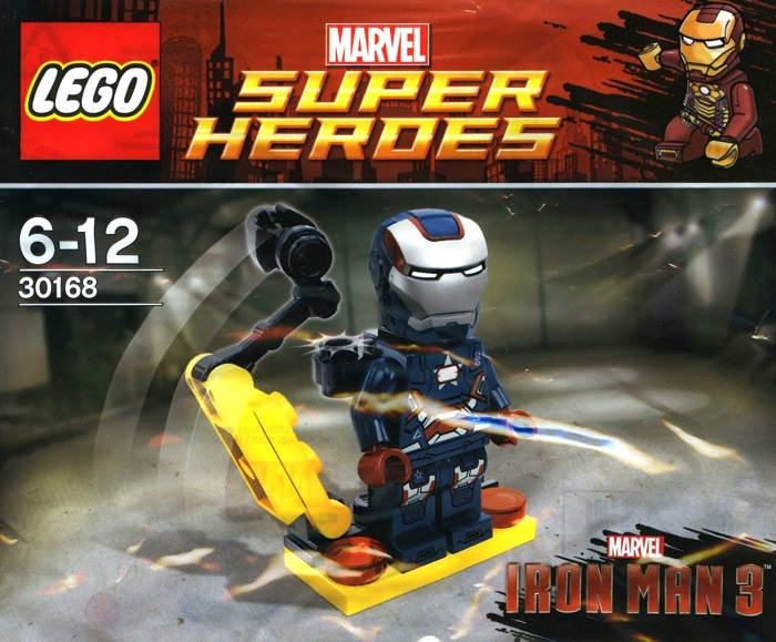 LEGO Iron Patriot Armor Suit Minifigure