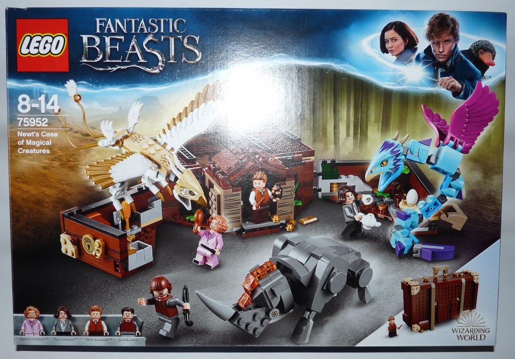 LEGO Newt´s Case of Magical Creatures Fantastic Beasts Set Box Front Cover - 75952