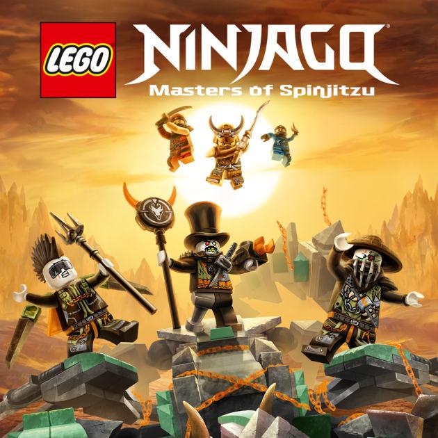 LEGO Ninjago Masters of Spinjitzu Season 9
