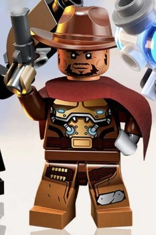 LEGO Overwatch McCree Minifigure