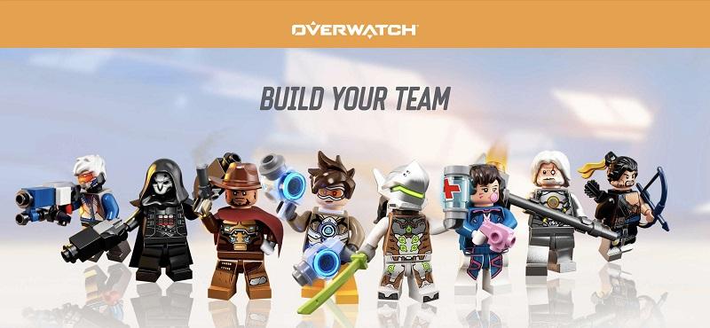 LEGO Overwatch Minifigures Lineup