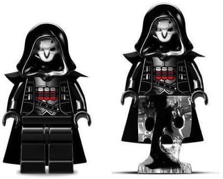 LEGO Overwatch Reaper Minifigure