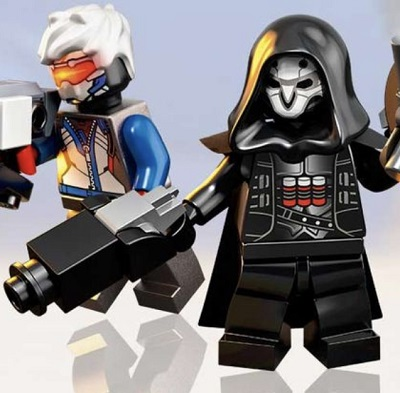 LEGO Overwatch Reaper's Two Shotguns