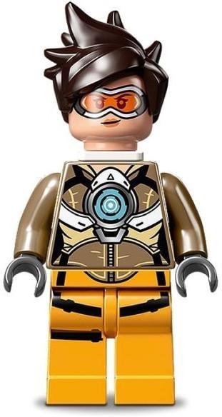 LEGO Overwatch Tracer Minifigure