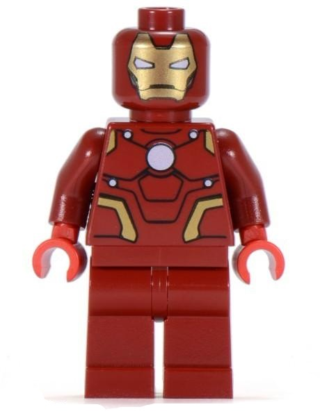 LEGO SDCC 2012 Iron Man Suit Armor Minifigure