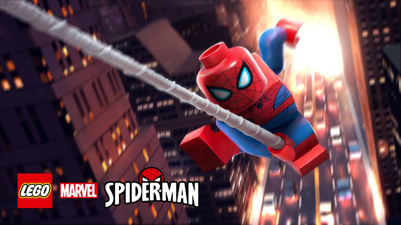 LEGO Spider-Man Wallpaper