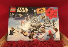 LEGO Star Wars Advent Calendar 2018 Box Front Cover - Set 75213