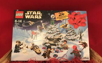 LEGO Star Wars Advent Calendar 2018 Box Front Cover - Set 75213
