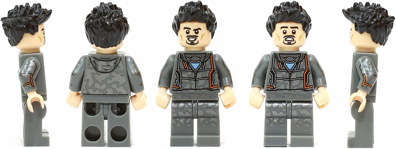 LEGO Tony Stark Minifigures