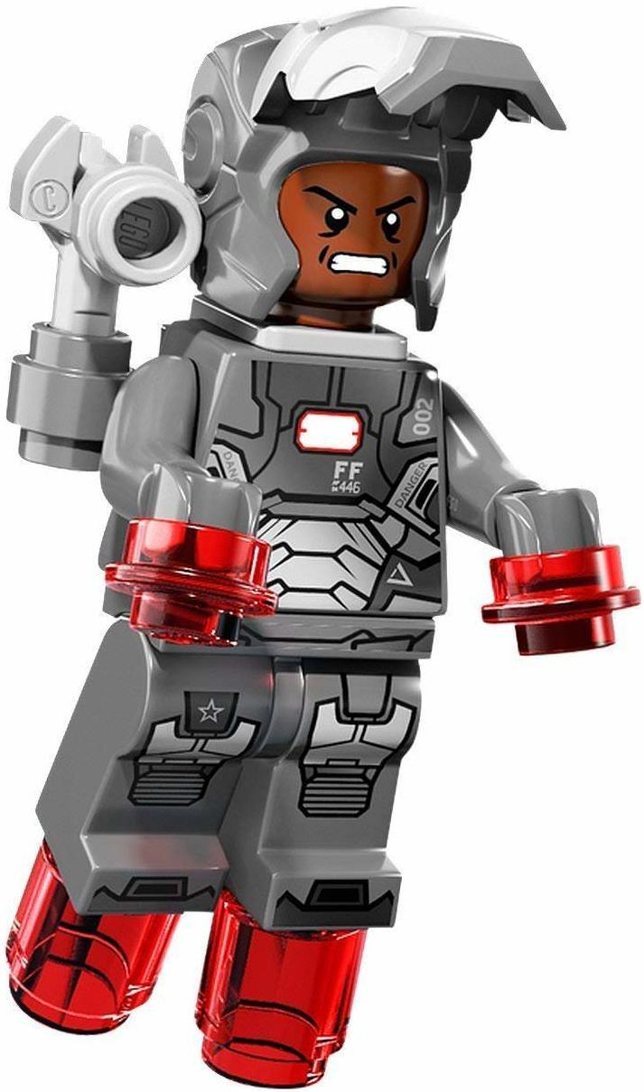LEGO War Machine Mark II Suit Armor Minifigure