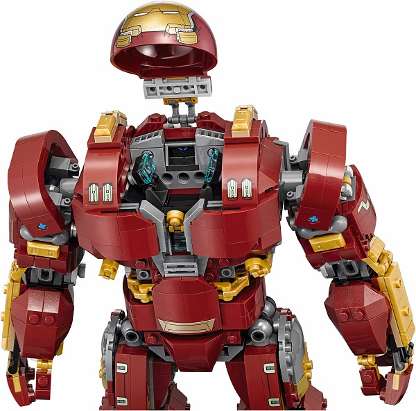 Larger LEGO Iron Man Mark 44 Hulkbuster Suit Armor Figure