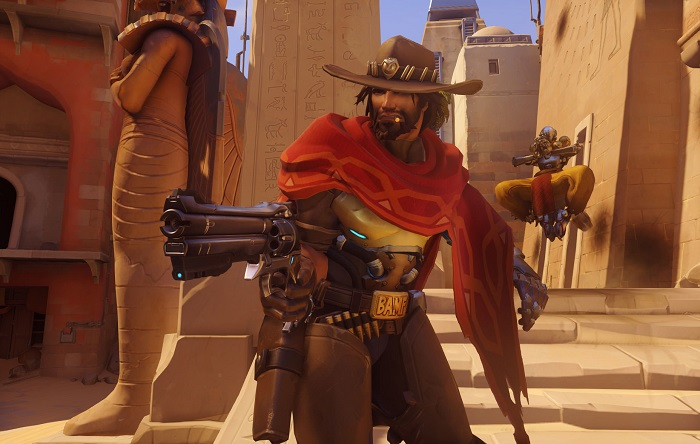 McCree in-game costume