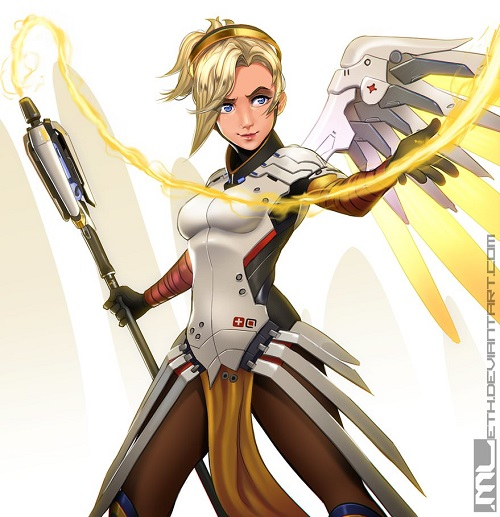 Mercy In-Game Costume