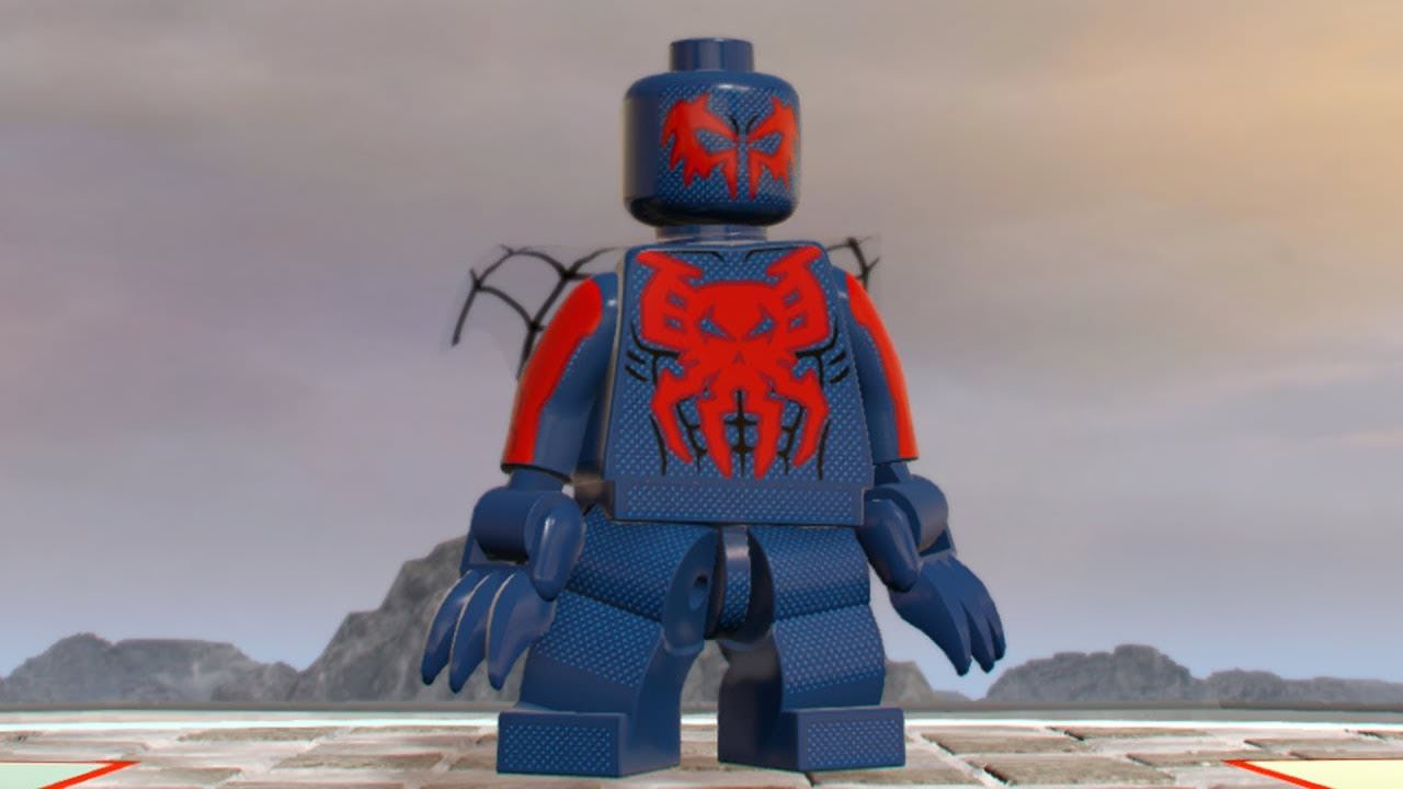 Spider-Man 2099 which first appeared in the LEGO Marvel Super Heroes Videogame