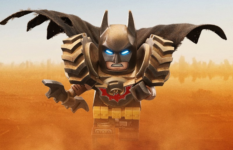 The LEGO Movie 2 Batman Minifigure Teaser
