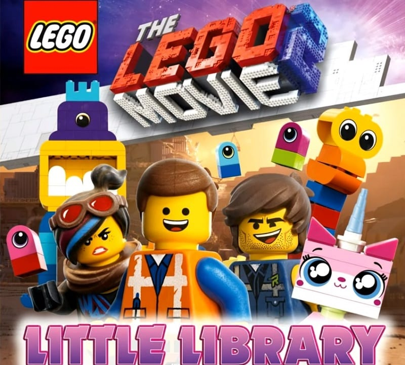 The LEGO Movie 2 Book Cover with Rex Dangervest
