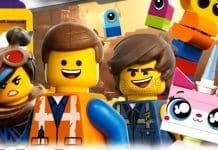 The LEGO Movie 2 Book Cover with Wyldstyle, Emmet, Rex Dangervest and UniKitty!