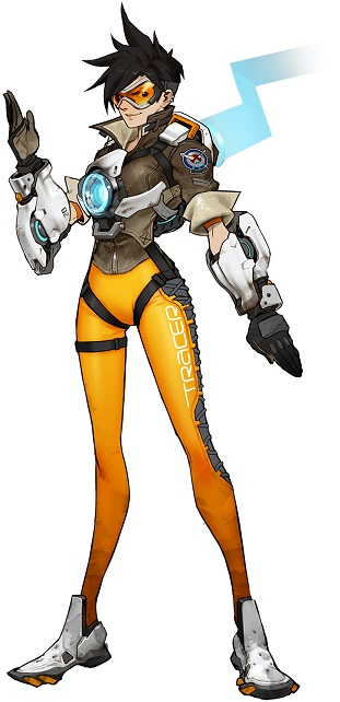 Tracer In-Game Costume