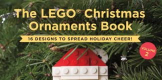 LEGO Christmas Ornament Book Cover