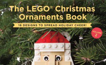 LEGO Christmas Ornament Book Cover