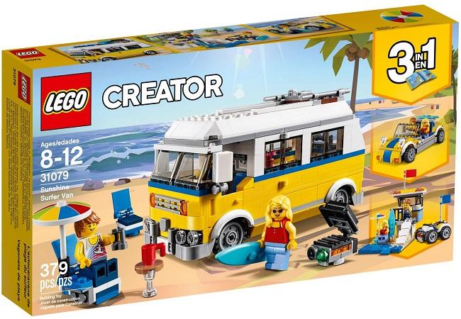 31079 Sunshine Surfer Van - Best LEGO Sets Between 30 & 50 USD
