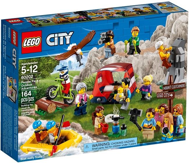 60202 People Pack Outdoor Adventures - Best LEGO Sets Between 30 & 50 USD