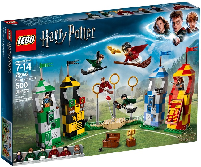 75956 Quidditch Match - Best LEGO Sets Between 30 & 50 USD