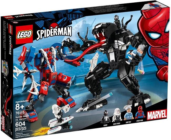 76115 Spider Mech vs Venom - Best LEGO Sets Between 30 & 50 USD