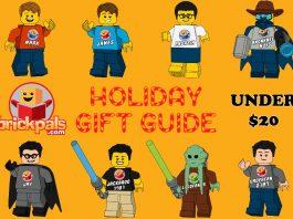 Brick Pals Holiday Gift Guide Under 20