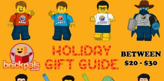 Brick Pals Holiday Gift Guide between 20 and 30