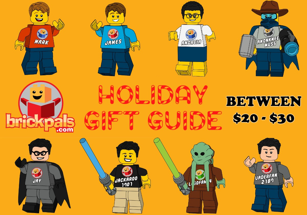Brick Pals Holiday Gift Guide between 20 and 30