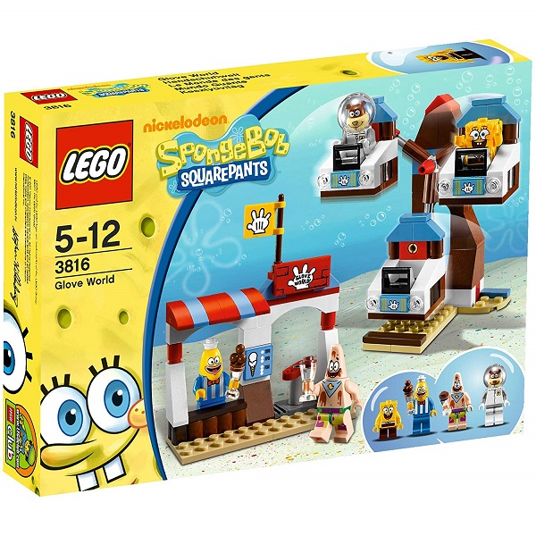 LEGO 3816 Glove World - SpongeBob SquarePants Set
