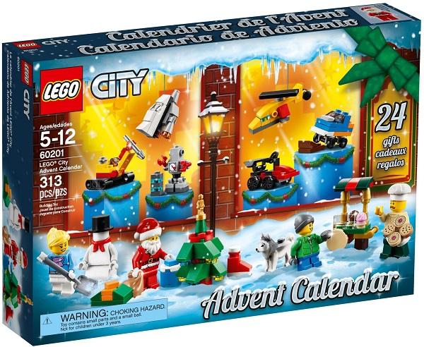 LEGO 60201 City Advent Calendar - Best LEGO Sets Between 20 & 30 USD