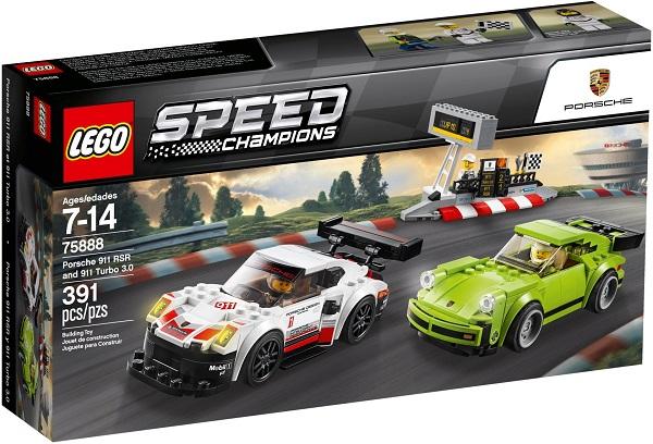 LEGO 75888 Porsche 911 RSR & 911 Turbo 3.0 - Best LEGO Sets Between 20 & 30 USD