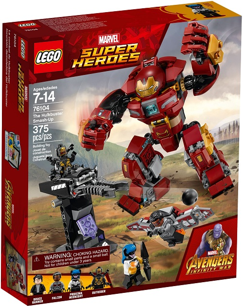 LEGO 76104 The Hulkbuster Smash-Up - Best LEGO Sets Between 20 & 30 USD