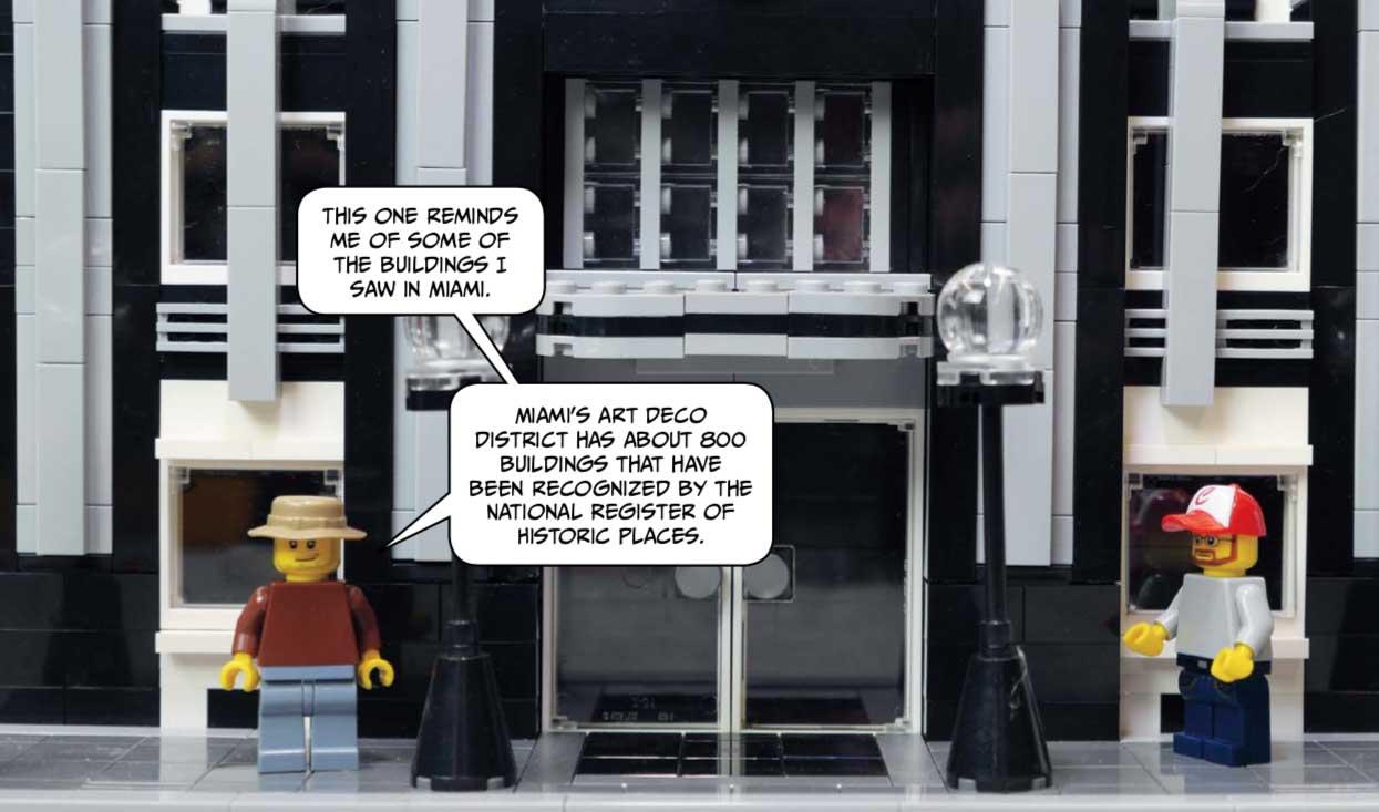 LEGO Art Deco Building -- LEGO Neighbourhood Book 2