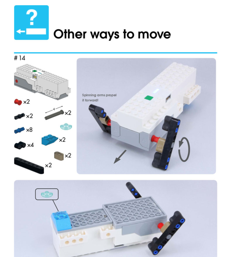 LEGO Boost Idea Book Other ways to Move